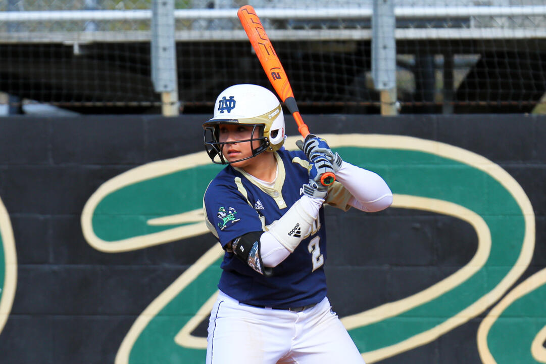 Sophomore Micaela Arizmendi hit her seventh home run of the season on Friday at DePaul