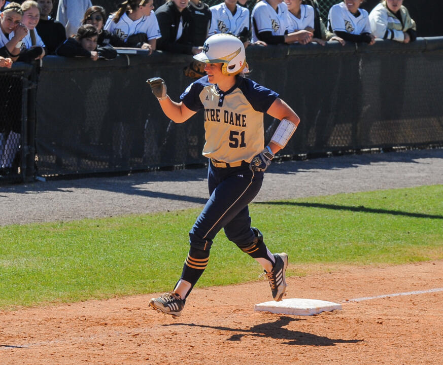 Junior Cassidy Whidden had three home runs in her past two ACC road games entering this weekend's series at Virginia