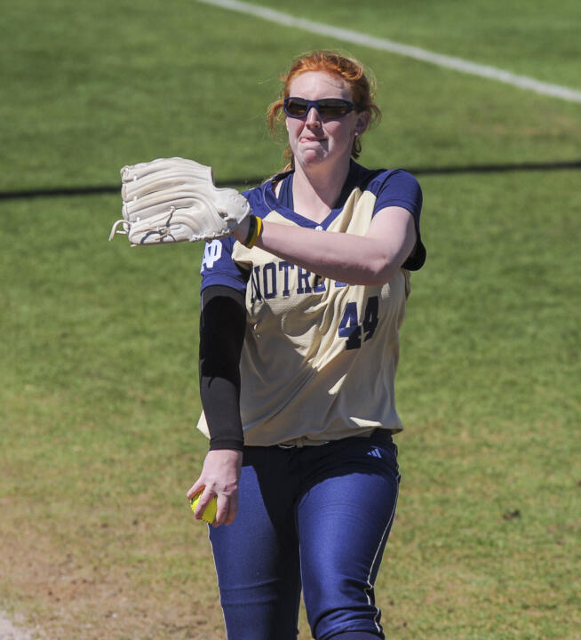 Senior Laura Winter was named the ACC Pitcher of the Week for the second time this season on Monday