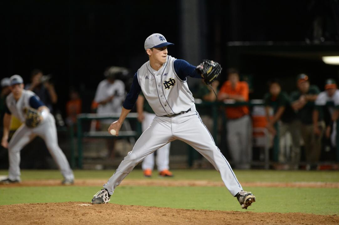 Senior Sean Fitzgerald hurled 8.1 innings, struck out five and only gave up five hits on 117 pitches.