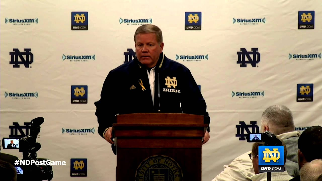 Coach Kelly Blue-Gold Post Game Press Conference