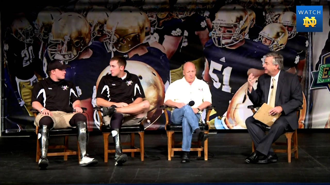 Wounded Warriors at Friday Football Luncheon - Oklahoma Week