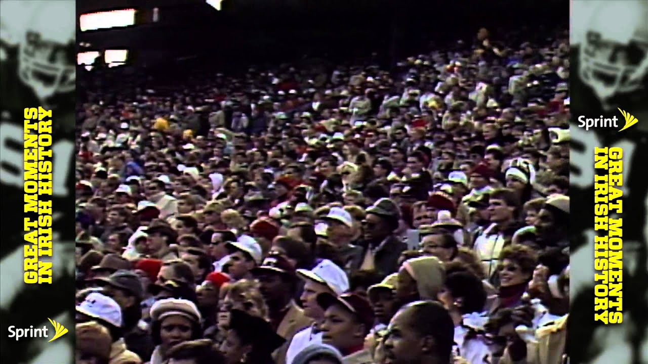 Sprint Greatest Moments - 1988 Cotton Bowl