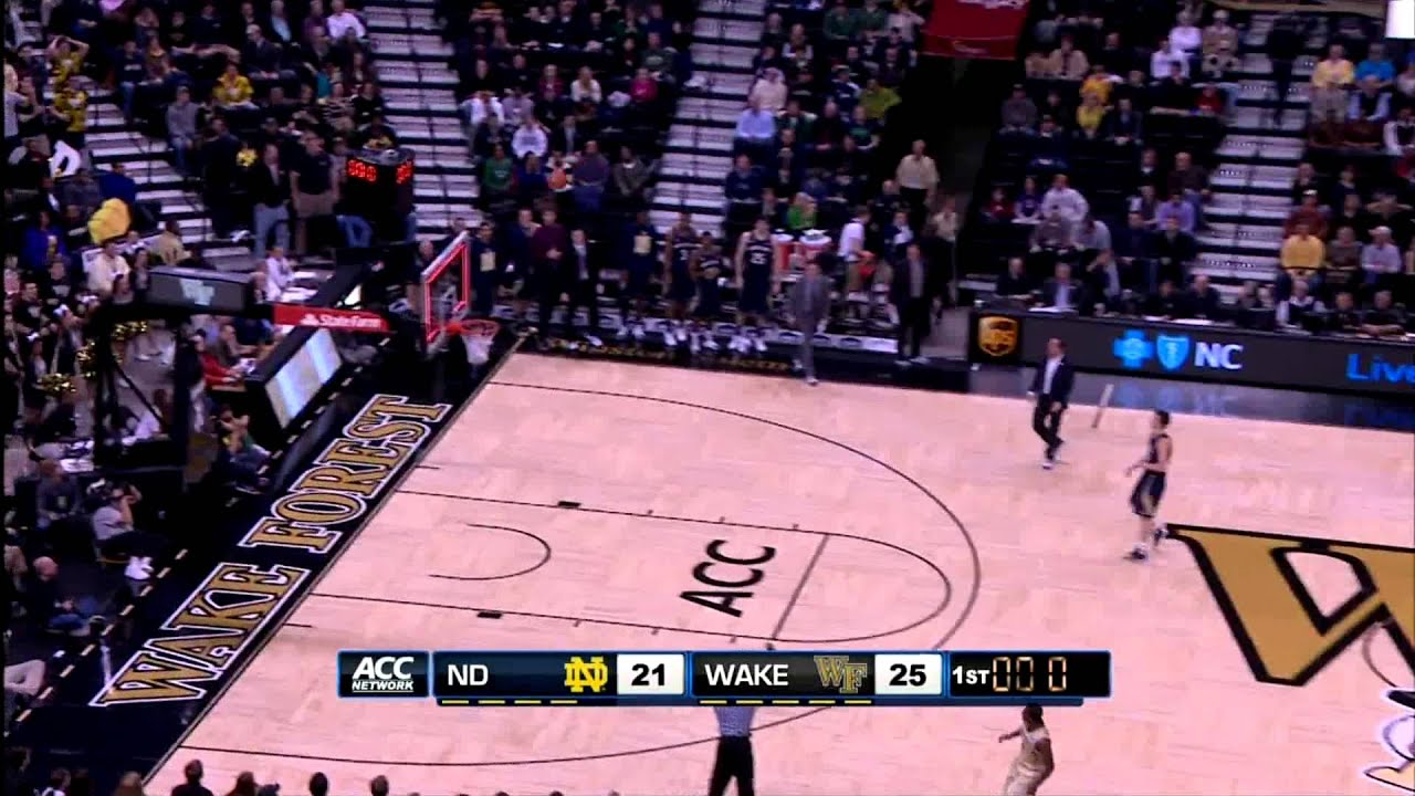 MBB at Wake Forest Highlights