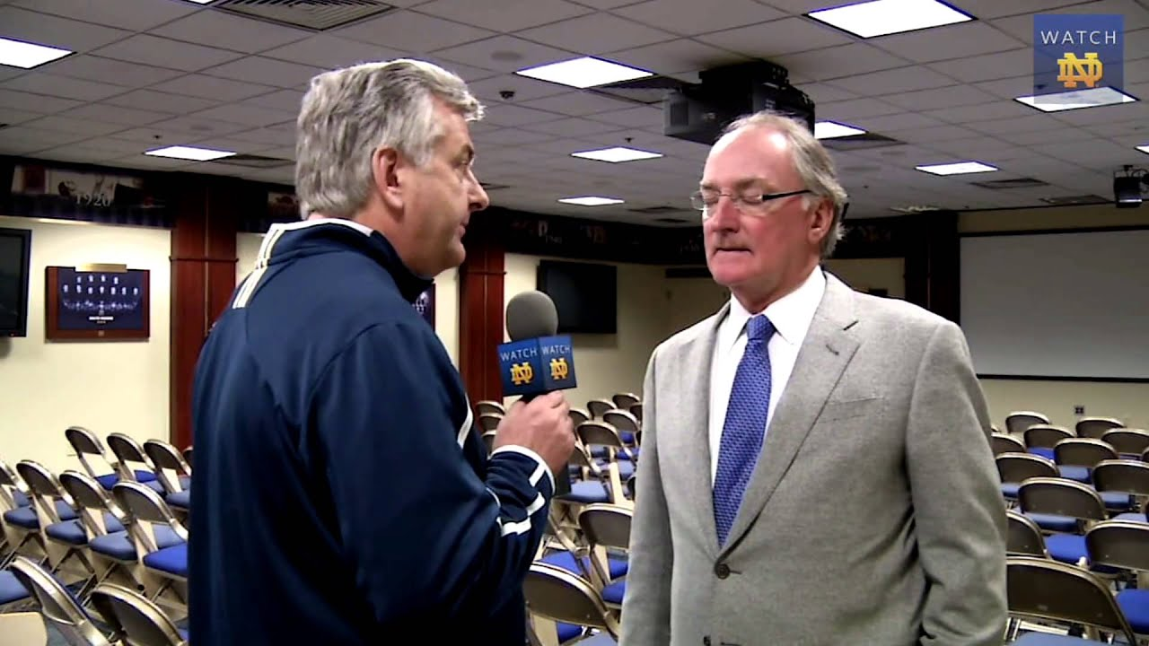 Jack Swarbrick Blue-Gold Field Turf Interview