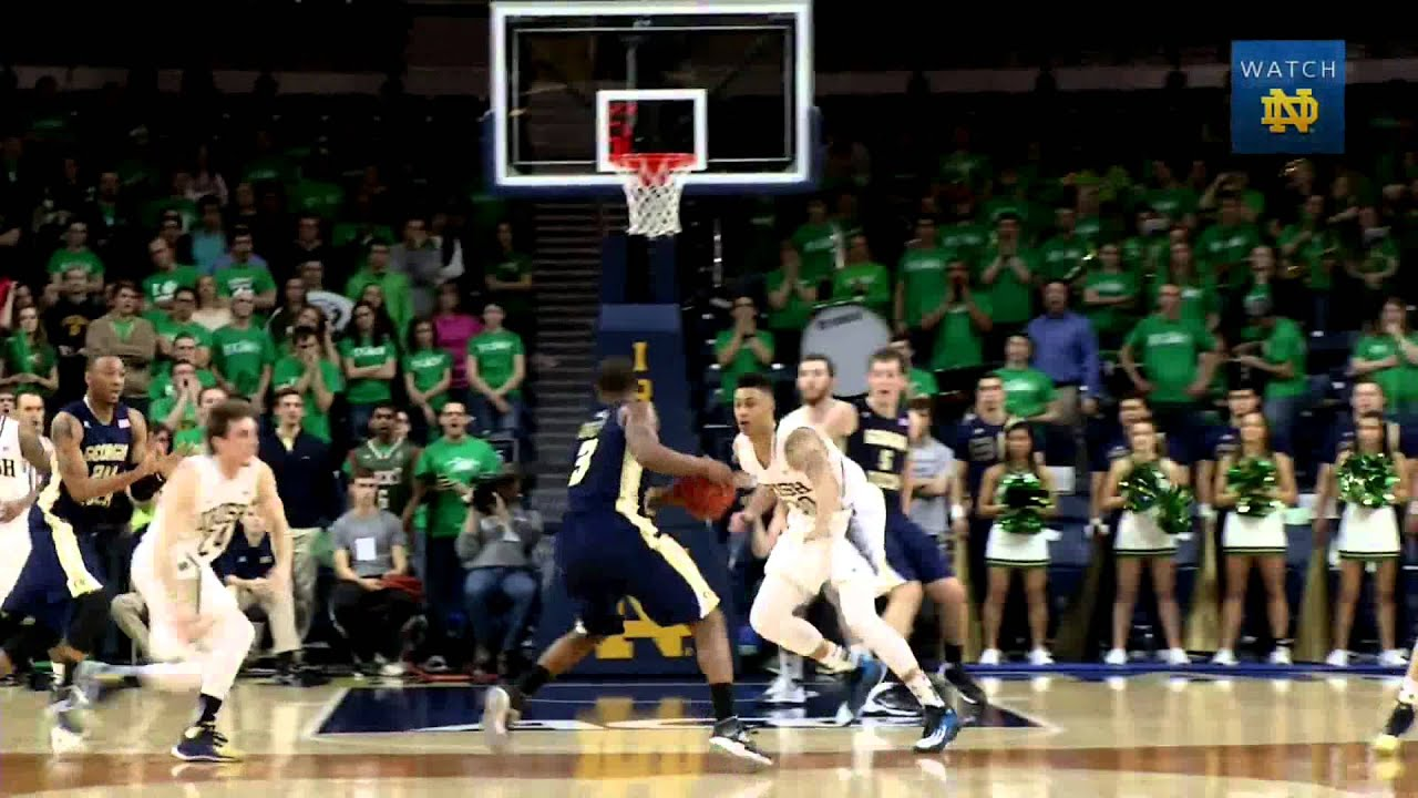 Pat Connaughton - Defensive Player of the Year - 2014 Evening with Notre Dame Basketball