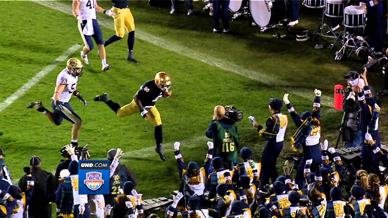 Turning Points - Golson Dives For Two Points