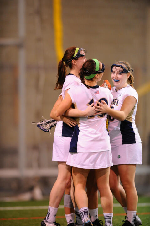 The Fighting Irish can celebrate playing at home in the NCAA Tournament this weekend.