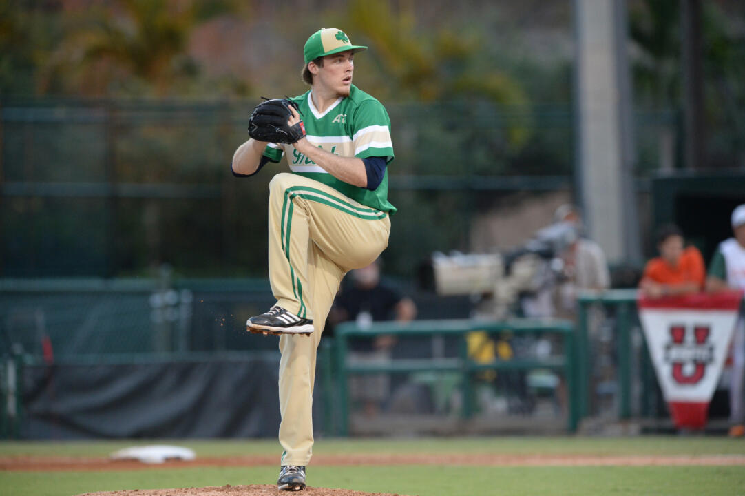 Junior RHP Pat Connaughton gets the start under the lights Friday night as the Irish return home to Frank Eck Stadium against Clemson.