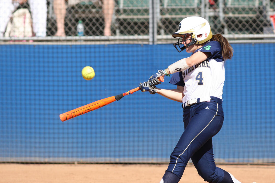Senior Lauren Stuhr picked up a crucial seventh-inning single in her final collegiate at-bat Saturday against UCLA