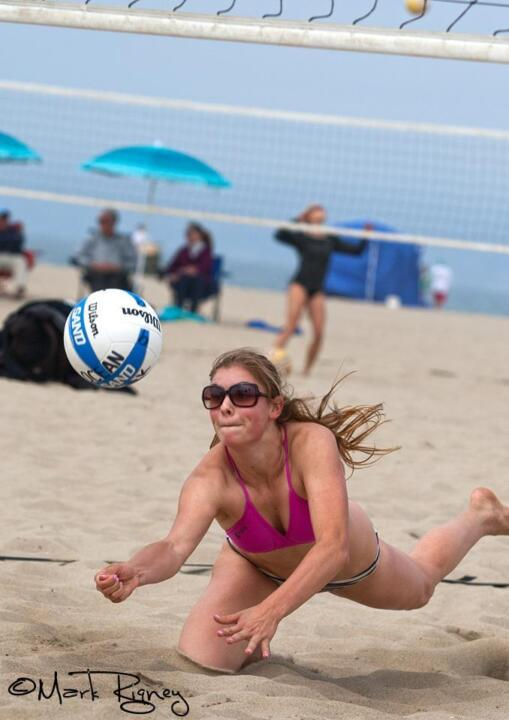 Incoming volleyball freshman Jo Kremer was named an AVCA High School Sand Volleyball All-American recently.