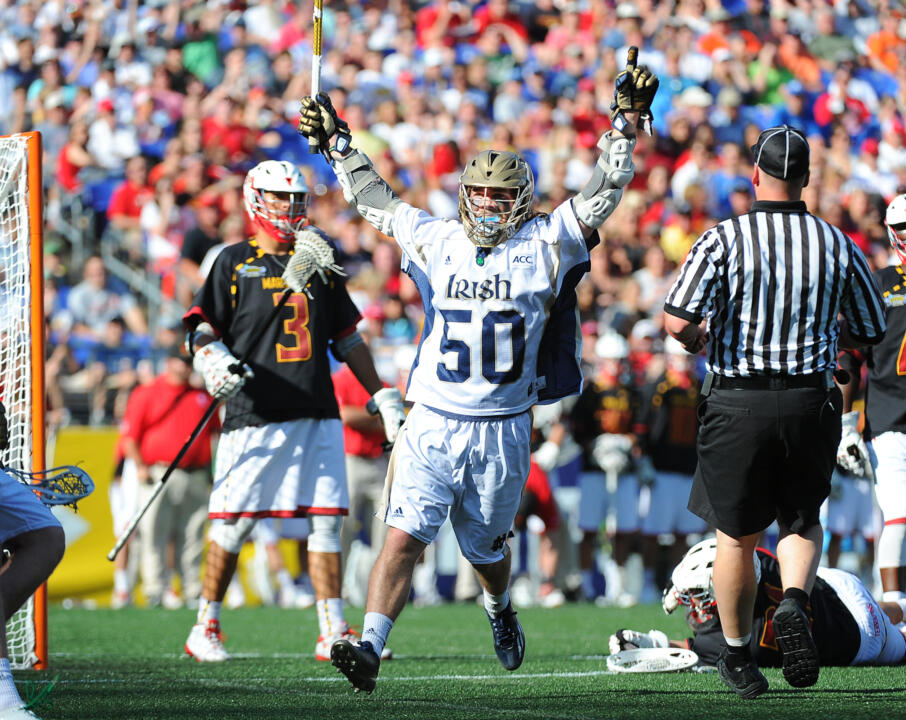 Matt Kavanagh had five goals and two assists to lift Notre Dame past Maryland.