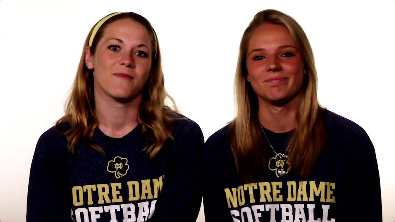 Cassidy Whidden and Carly Piccinich - Student. Athlete. Irish.