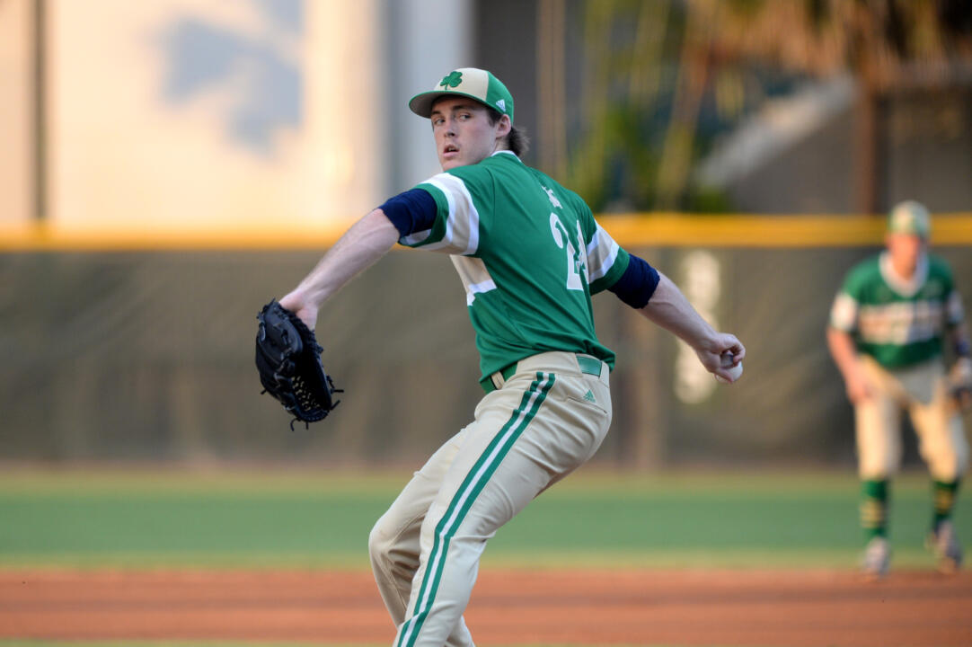 Junior Pat Connaughton was selected in the fourth round by the Baltimore Orioles Friday afternoon.