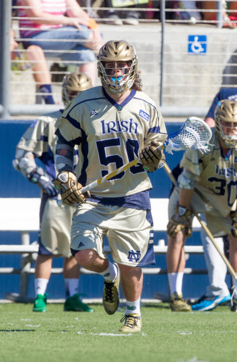 Matt Kavanagh's 75 points (42 goals, 33 assists) in 2014 are a single-season Notre Dame record.