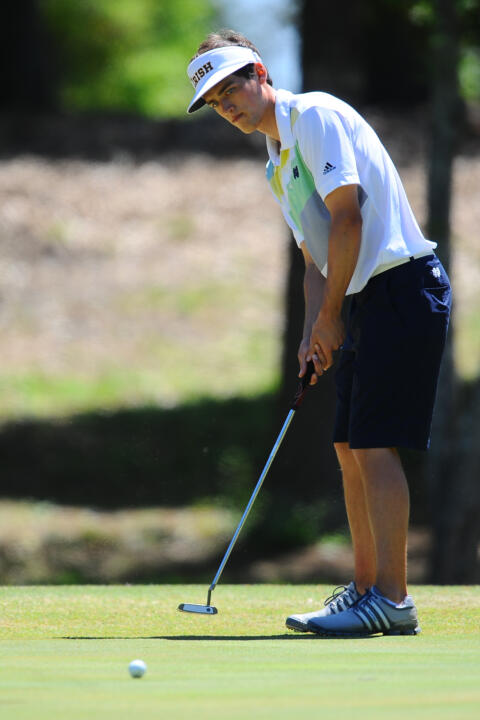 Niall Platt and Patrick Grahek represented Notre Dame on the 2014 all-ACC Men's Golf Academic Team that was announced on Monday by the conference