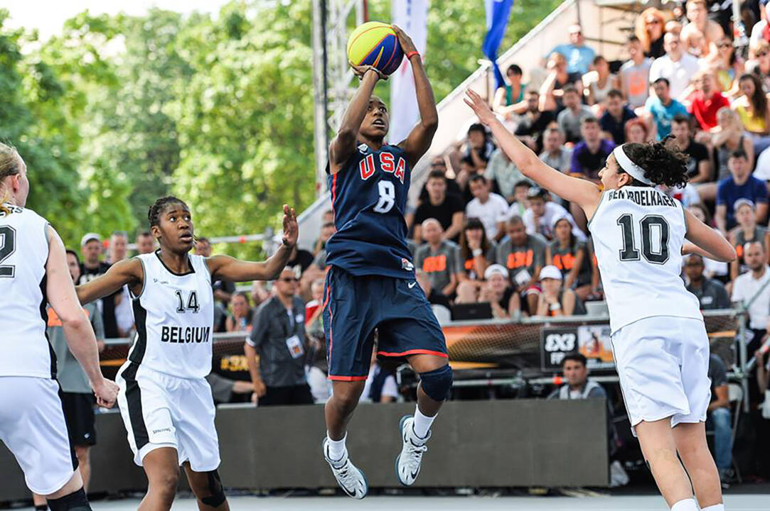 Notre Dame junior All-America guard Jewell Loyd averaged a team-high 7.3 points per game (second-best in the tournament) to help the USA to the gold medal at the FIBA 3x3 World Championship on Sunday in Moscow, Russia.