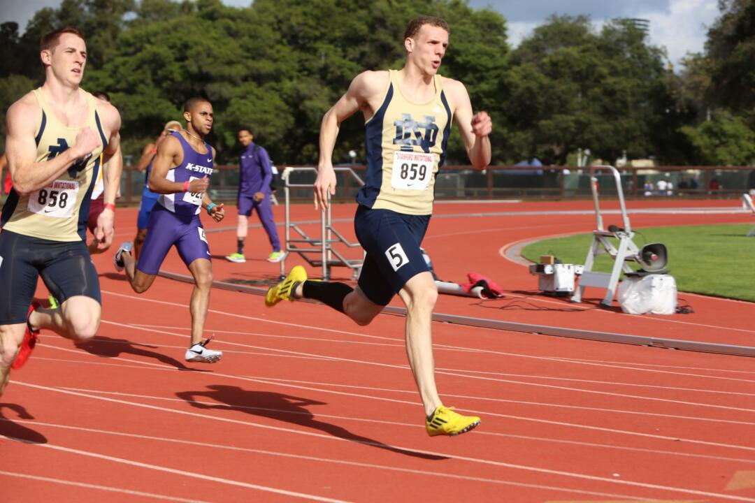 Junior Chris Giesting has been named the ACC Outdoor Men's Track and Field Scholar-Athlete of the Year.