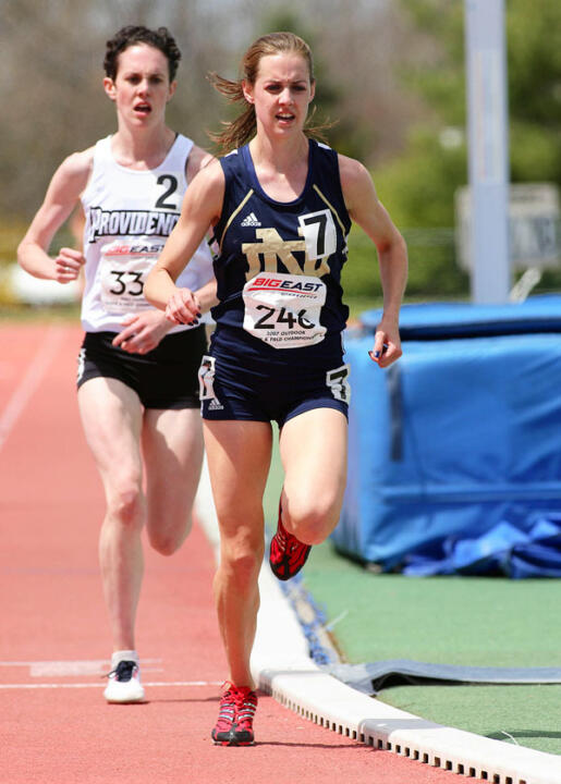 Former Irish standout Molly Huddle won the women's 5,000m at the USA Outdoor Championships last month.