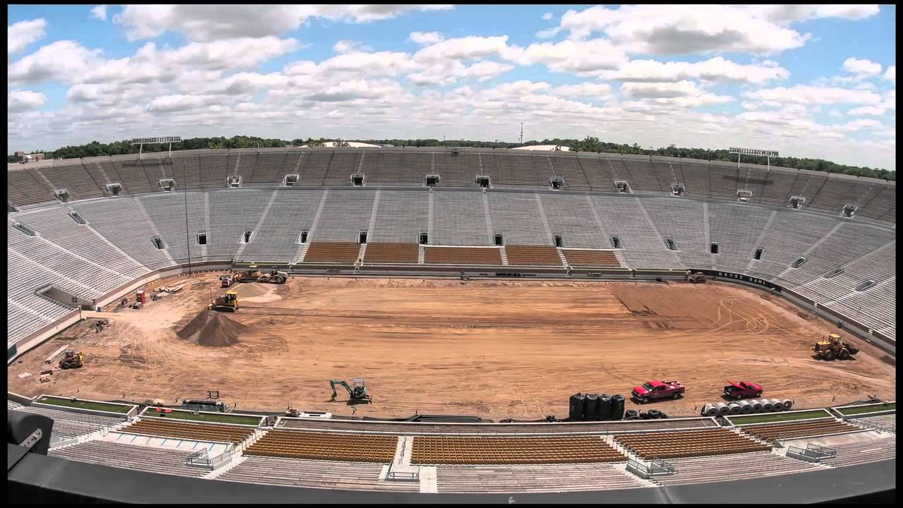 Notre Dame Stadium Turf Time Lapse Final