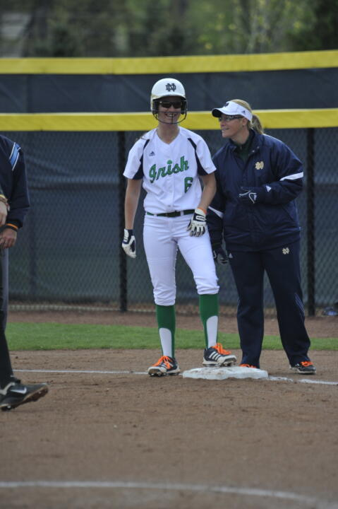Kasey O'Connor ('12) officially re-joined the Notre Dame softball program as the team's director of operations