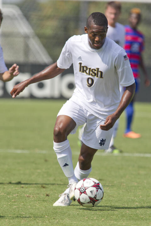 Leon Brown put Notre Dame up 1-0 in the sixth minute. He also had an assist in the win.