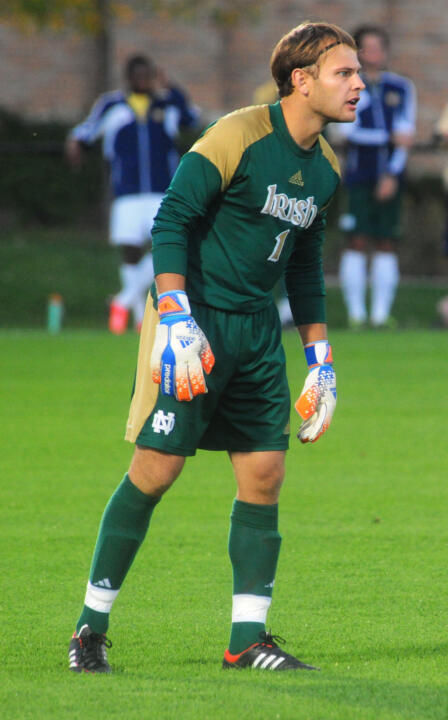 Patrick Wall made three saves to earn the 14th shutout of his career.