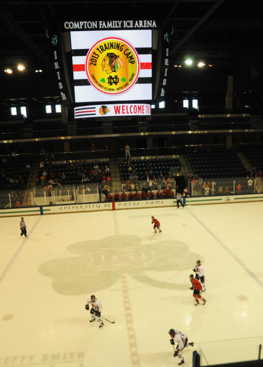 Tickets for fans to attend the Chicago Blackhawks training camp at the Compton Family Ice Arena go on sale, Monday, August 11.