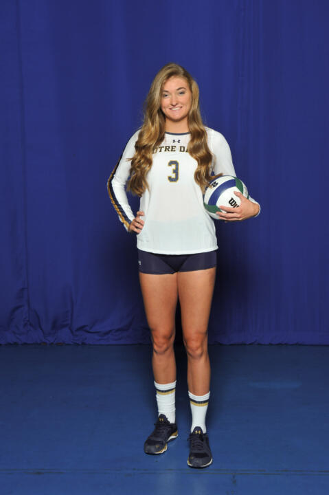 Meet freshman middle blocker Sam Fry.