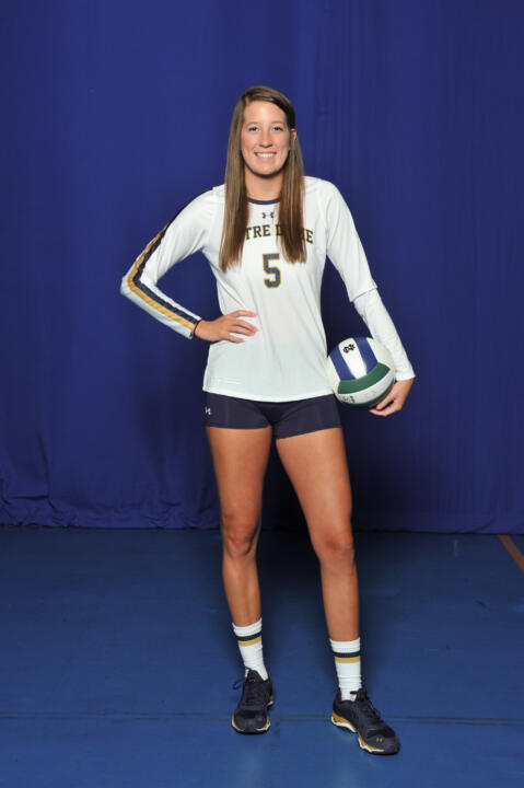 Meet freshman outside hitter Sydney Kuhn.