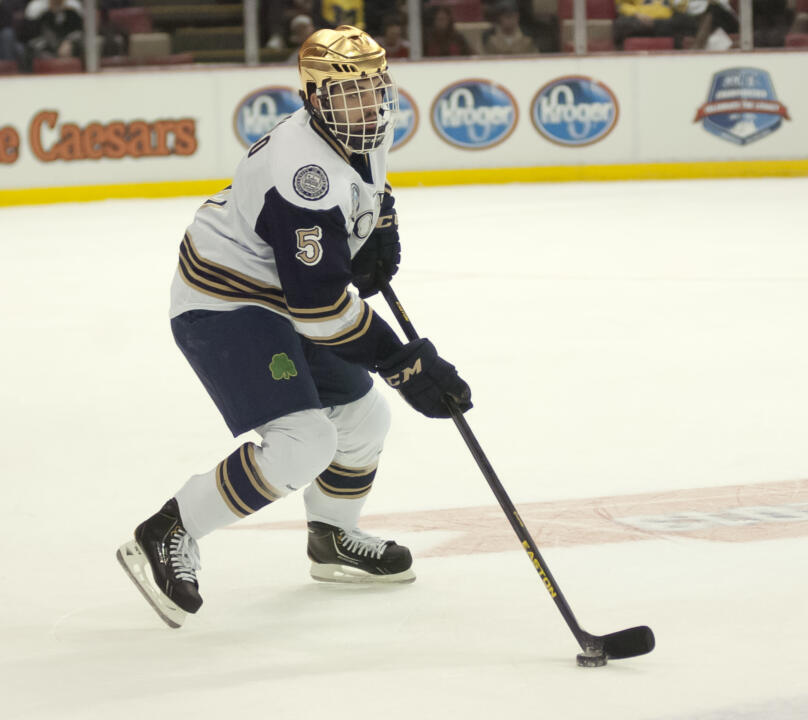 Senior defenseman Robbie Russo and his Notre Dame teammates enter the 2014-15 season ranked 11th in the USA Today/USA Hockey Magazine and ninth in the USCHO.com polls.