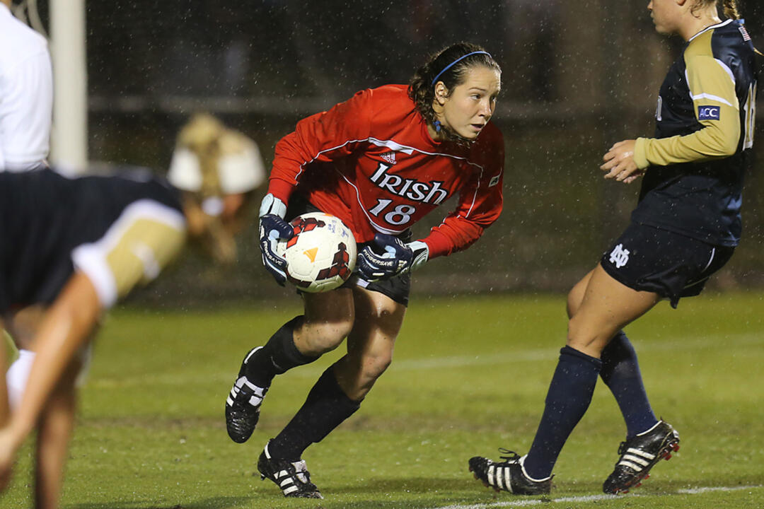 Sophomore goalkeeper Kaela Little made six saves over the full 110 minutes in a 0-0 draw at #4 Stanford on Sunday