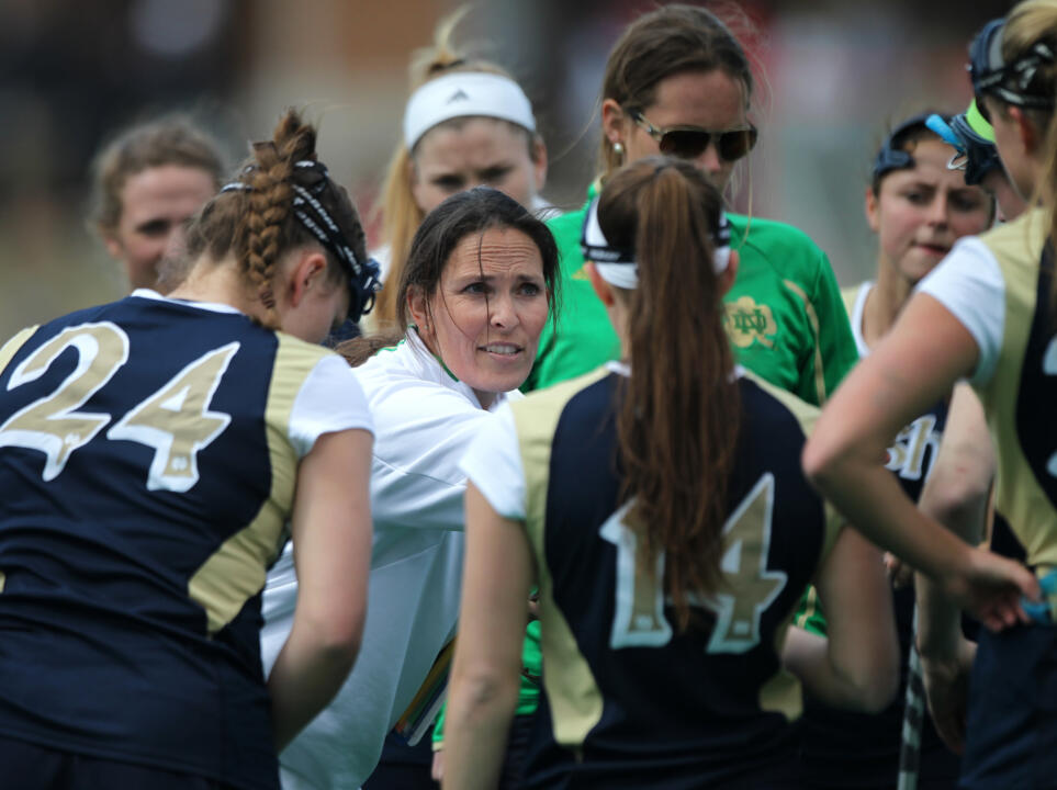 Christine Halfpenny has bolstered Notre Dame's roster for 2015 with a top 10 recruiting class.