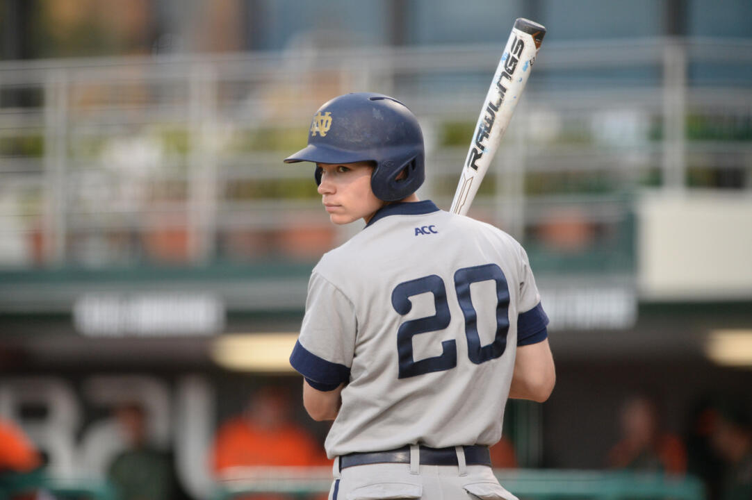 Sophomore Kyle Fiala was named the No. 5 prospect (No. 1 infielder) in the Great Lakes League by Baseball America.