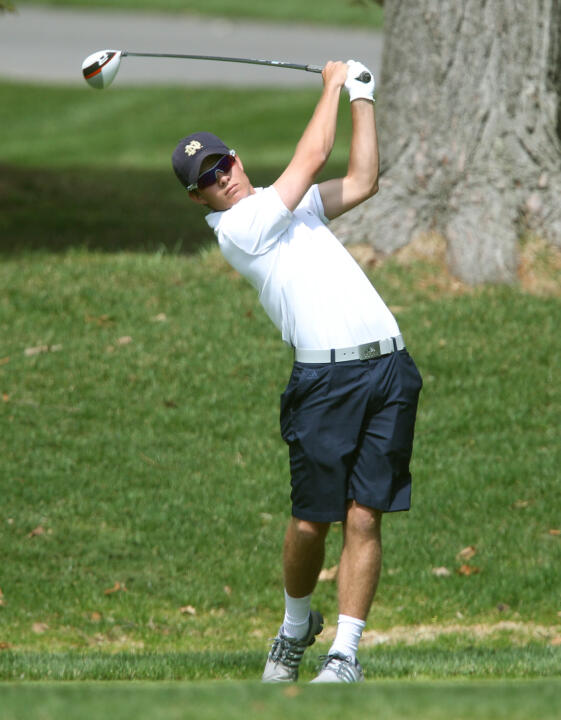 Matt Rushton earned a share of sixth place in his first career collegiate start at last season's Gopher Invitational