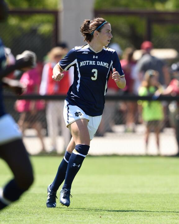 Sophomore midfielder Morgan Andrews has emerged as a catalyst in the Notre Dame lineup