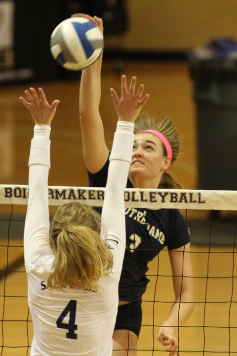 Freshman Sam Fry earned a spot on the all-tournament team for her solid weekend at Purdue.