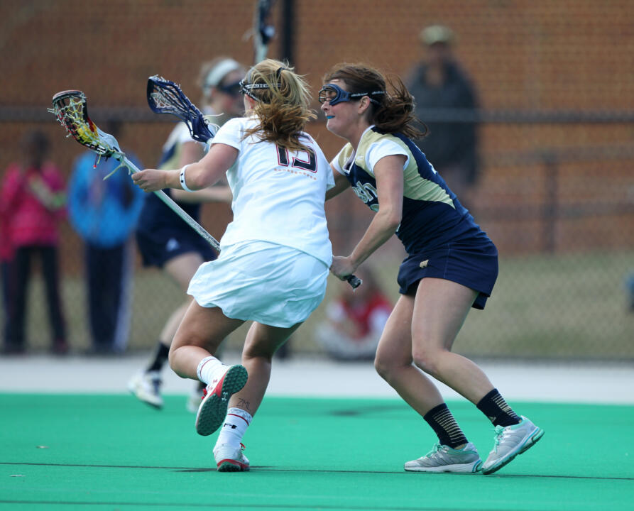 Captain Leah Gallagher and the Irish will get an up-close look at defending national champion Maryland on Sunday.