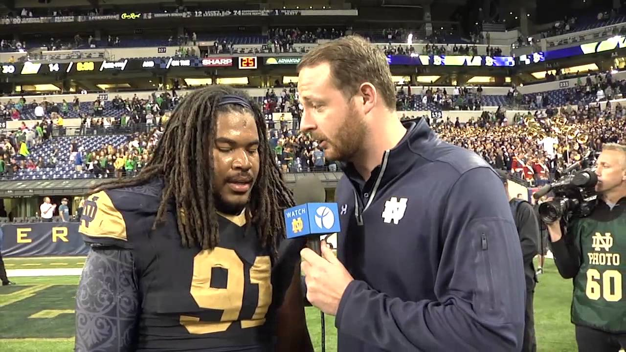 FB - Sheldon Day On Field Interview