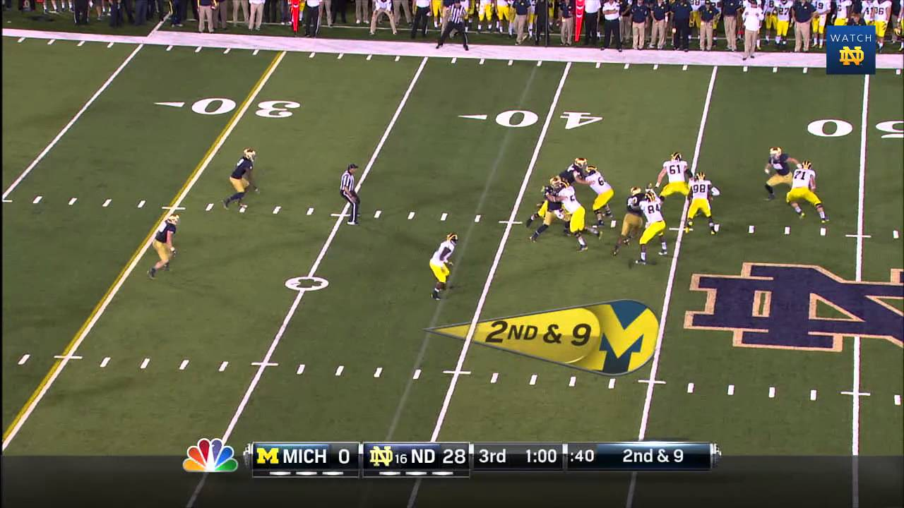 FB vs. Michigan Highlights