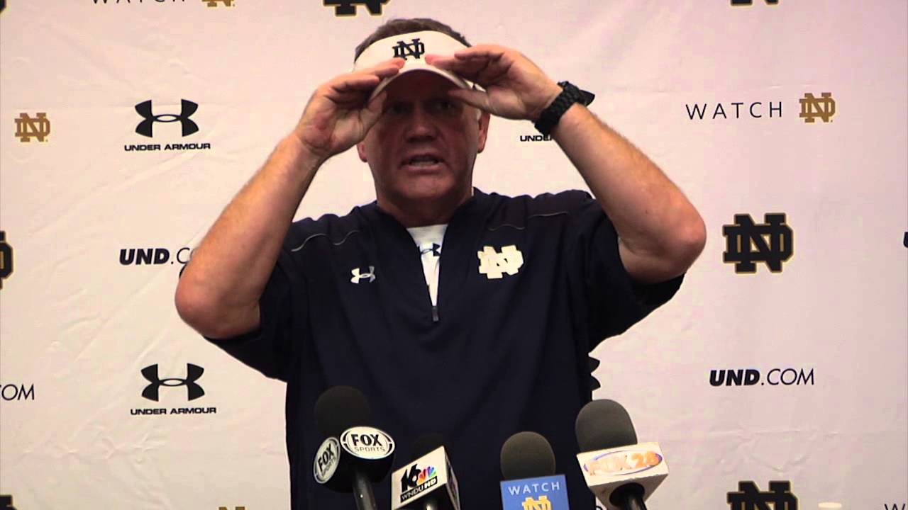 Coach Kelly Media Session - Sept. 4