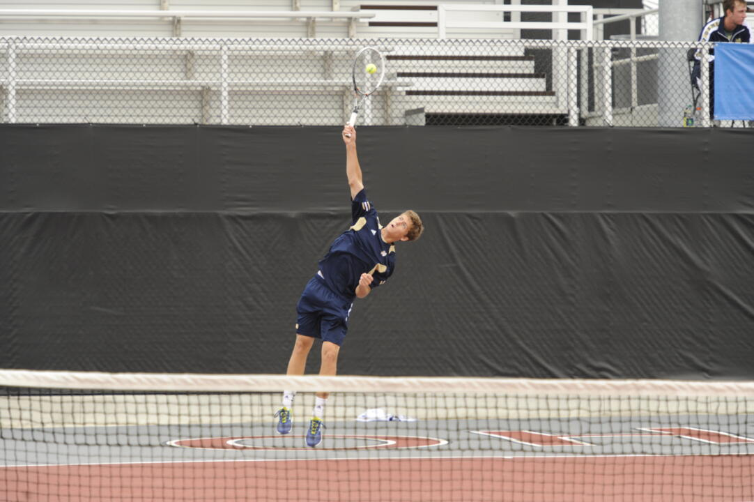 Junior Quentin Monaghan has already turned in a big fall with several ranked singles wins.