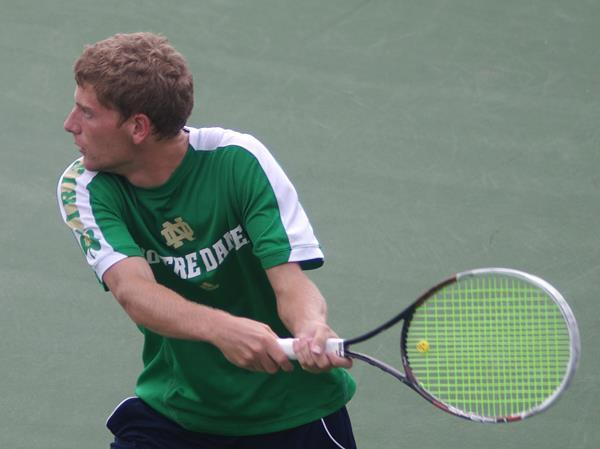 Senior Wyatt McCoy is the No. 2 seed in the singles qualifying bracket that begins Thursday.