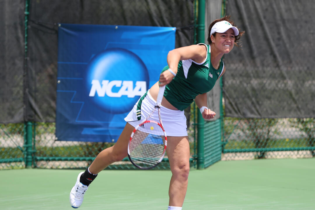 Junior Quinn Gleason looks to make another deep NCAA run in 2015 with new doubles partner Monica Robinson.