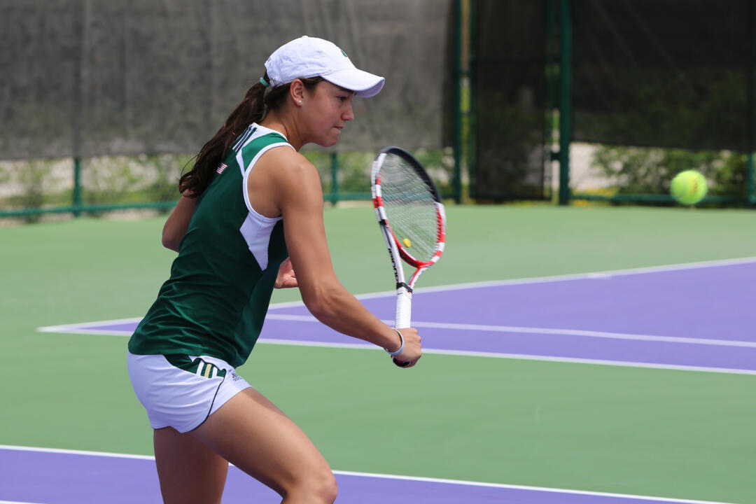 Junior Quinn Gleason went 1-1 in the qualifying round for singles at the ITA All-American Championships Tuesday.