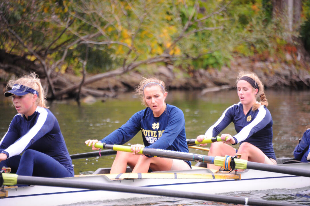 Three Notre Dame boats will race in the 50th Head of the Charles Regatta on Sunday in Massachusetts