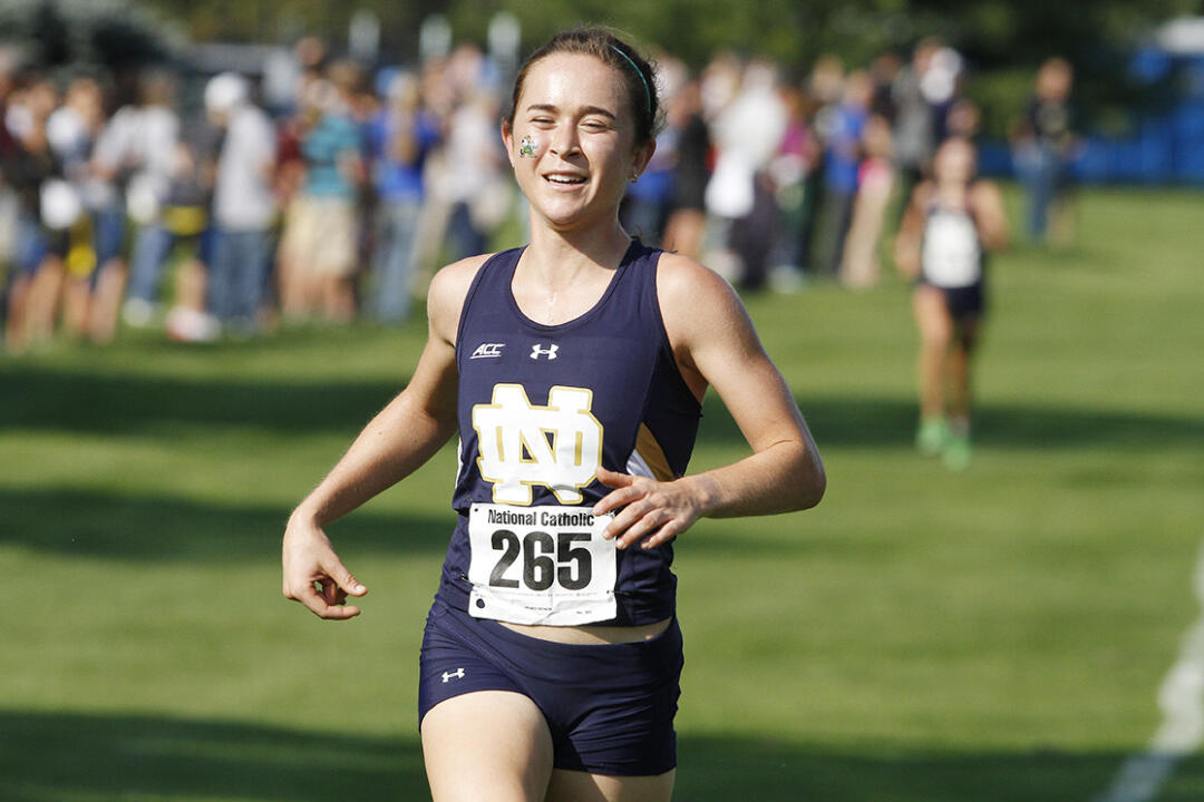 Junior Molly Seidel placed fifth at Friday's Notre Dame Invitational, helping the Fighting Irish women's cross country team to a third-place finish at the high-powered meet.