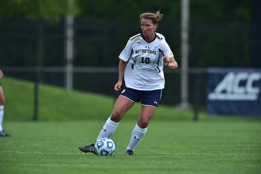 Junior midfielder Glory Williams was one of the unsung heroes of Notre Dame's 2-0 win at Pittsburgh on Thursday