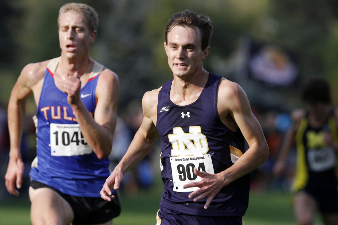 Michael Clevenger and the Irish men's cross country team are eyeing a top-six finish at Friday's ACC Championships.