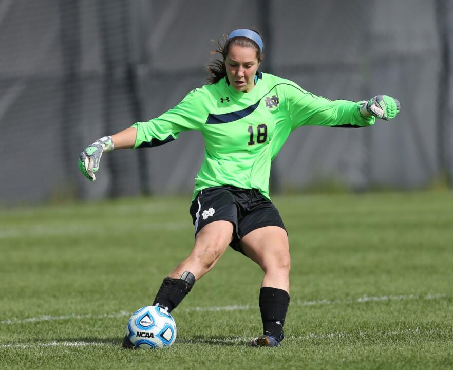 Sophomore goalkeeper Kaela Little has shut out her last six opponents on the road dating back to Aug. 22
